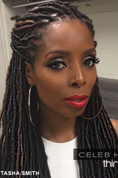 For Better or Worses Tasha Smith rocking her faux(foe) locs