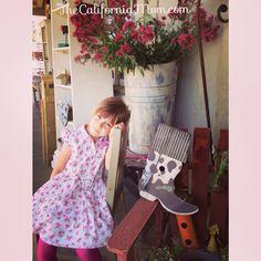 The California Girl on the California Ranch