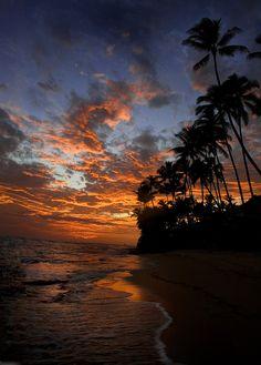Hawaii sunset, United States