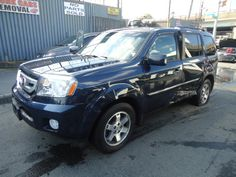 2009 HONDA PILOT TOURING  THIS IS A SALVAGE REPAIRABLE RUN AND DRIVE VEHICLE WITH DAMAGE TO THE LEFT SIDE DOORS. HAS TOURING PACKAGE ITH LEATHER , NAVIGATION , SUNROOF , ENTERTAINMENT. For more information and immediate assistance, please call +1-718-991-8888