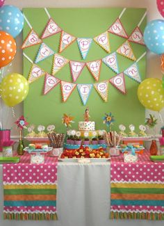 Superieur Dessert Table Event Photos, First Birthday Table, Cheer Party Table,  Vintage Table, Baseball Party Table