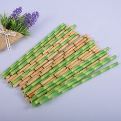 Bamboo Paper Drinking Straws Set, 25 Pcs Price: US $7.95 & FREE Shipping 🤔 🤔🤔 Curious about eco-friendly products? 🌿🐼🐾 Want to make a difference? 💃🕺😺 Then be part of the solution 💚✅🌌 don't be part of the problem 💩⚡📴 #zerowaste #sustainable #noplastic #eco #ecofriendly #reusable #plasticfreejuly #vegan #sustainableliving #reuse #gogreen #zerowastehome #sustainability #environment #stasherbag #nowaste #zerowastelifestyle #plantbased #recycle #plasticpollution #wastefree… Plastic Free July, No Plastic, Buy Bamboo, No Waste, Tropical Party, Paper Straws, Party Tableware, Sustainable Living, Biodegradable Products