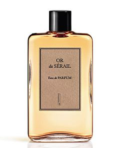 Or du Serail Eau de Parfum by Naomi Goodsir, at Luckyscent. Hard-to-find fragrances, niche brand perfumes,  and other under-the-radar luxuries.