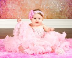 Adorable girl in ruffles. | Boise, Idaho Children's Photography | Photography | Children's Portraits