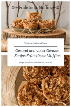 Healthy and full of enjoyment: With Sonja's breakfast muffins, the good intentions do not falter My wonderful mess - Frühstück - Gesundes Essen Healthy Protein, Protein Foods, Healthy Snacks, Healthy Recipes, Healthy Muffins, High Protein, Backpacking Food, Camping Meals, Kayak Camping