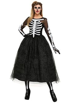 c72972001eabe Fun Costumes womens Womens Skeleton Beauty Plus Size Costume 1X   Check out  the image by