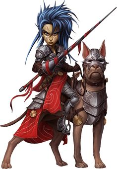 f Gnome Paladin Plate Armor Sword War Dog Mount midlvl community hills underdark forest farmland mountains rough lg Fantasy Races, Fantasy Warrior, Fantasy Rpg, Medieval Fantasy, Woman Warrior, Pathfinder Character, Pathfinder Rpg, Fantasy Portraits, Character Portraits