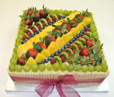 Cake by Cakes Etcetera Creative Cakes, Creative Food, Diy Birthday, Birthday Cake, Rectangle Cake, Fruit Tart, Cake Decorating Techniques, Cake Designs, Kos