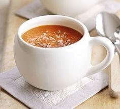 dj's kitchen--Easy tomato basil soup