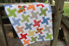 Love this whirlgig quilt