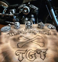 Motörhead rings from the great frog Eddie Clarke, Lemmy Motorhead, Tribute, Devil, Rings, Accessories, Jewelry, Men, Jewlery