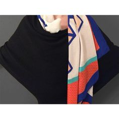 MAGNA SCARF 1 BY NUNES Statement piece, comfort accessory. Vibrant, custom, non-repeat surface design. Extra large square format. 100% silk crepe de chine. Produced & Manufactured in Como, Italy.