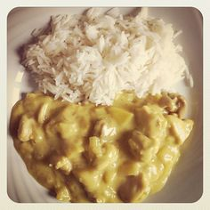 pollo al curry con le mele