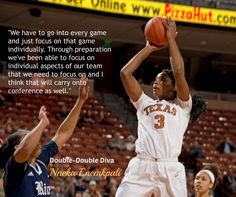 Senior Nneka Enemkpali on how to build on pre-conference play. #ltt