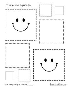 Pre-writing skills for your young ones are so easy to implement just by introducing shapes! Try these 10 free shape tracing worksheets to help your students prepare for drawing and writing skills! Shape Worksheets For Preschool, Shape Tracing Worksheets, Tracing Shapes, Preschool Writing, Numbers Preschool, Free Preschool, Preschool Learning, Printable Worksheets, In Kindergarten