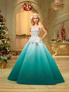 "Barbie 2016 Holiday Doll - Aqua - Mattel Girls - Toys ""R"" Us"