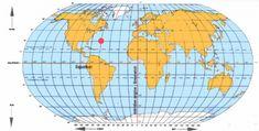 Pour se repérer à la surface de la planète, on utilise des coordonnées géographique : la latitude et la longitude...