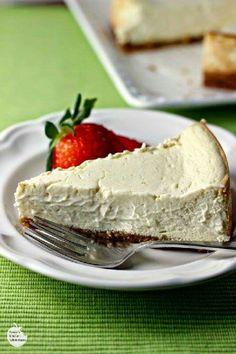 Skinny vanilla bean cheesecake