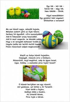 Locsolóversek apának és fiának | kecskemet.imami.hu Happy Easter, Easter Activities, Creative, Happy Easter Day