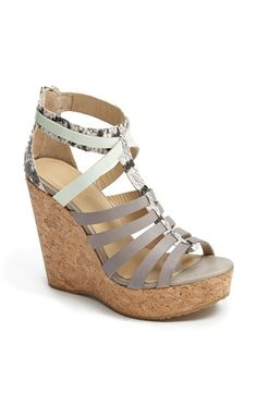Jimmy Choo 'Pierce' Wedge Sandal available at #Nordstrom