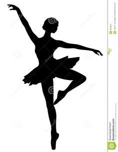 Resultado de imagem para bailarina silhouette