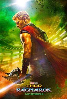 'Thor: Ragnarok', na trama, Thor (Chris Hemsworth) está preso do outro lado do universo. Ele..