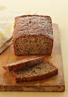 Easy Banana Bread — Check out the secret ingredient that, along with the ripe bananas, makes the bread super moist. (Hint: It's a sandwich fave.)