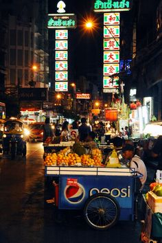 Street food in Bangkok   - Explore the World with Travel Nerd Nici, one Country at a Time. http://TravelNerdNici.com