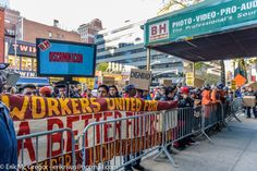 https://flic.kr/s/aHsknydDD8 Labor groups, community supporters and customers call on photo and video giant to improve working conditions and respect workers' rights to organize