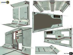 ArtStation - environment design stuff , badr douah