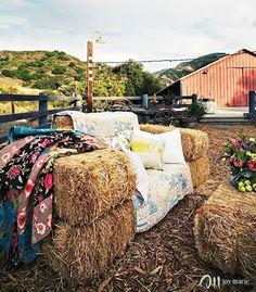 Quilts + Hay