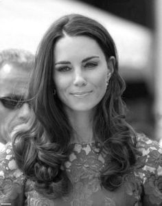 "Catherine Duchess of Cambridge. ""Inner Beauty and Character add Grace to Outer Beauty."" - Deodatta V. Shenai-Khatkhate"