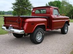 Chevy trucks aficionados are not just after the newer trucks built by Chevrolet. They are also into oldies but goodies trucks that have been magnificently preserved for long years. 1966 Chevy Truck, Classic Chevy Trucks, Chevrolet Trucks, Classic Cars, Chevy Stepside, Chevy 4x4, Chevy Pickups, Chevy Silverado, Gm Trucks