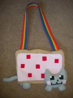 Plush Nyan Cat Purse, $30.00