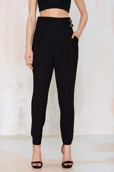 Nasty Gal Pair Up High-Waisted Pant | Shop Clothes at Nasty Gal!