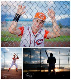 Baseball Senior Portrait Session