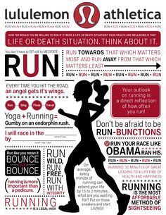 lululemon. run your race like Obama ran his? That wont be a very hard race.
