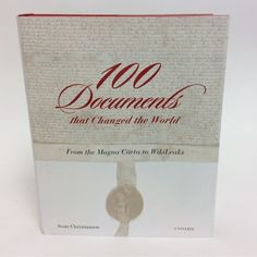 100 Documents that Changed the World from Glass House for $29.95