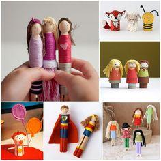 15 Handmade Pocket Dolls -  Bring Them Everywhere | Spoonful