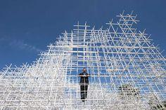 Sou Fujimoto's Serpentine pavilion http://www.guardian.co.uk/artanddesign/2013/jun/04/serpentine-gallery-pavilion-sou-fujimoto  http://www.dezeen.com/tag/sou-fujimoto/ http://www.sou-fujimoto.net/