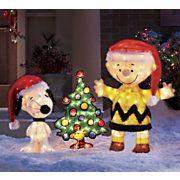 Peanuts Charlie Brown Snoopy And Woodstock