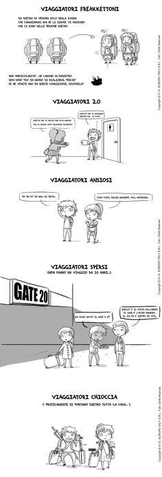 Travel comics! Emi & Jiro in viaggio
