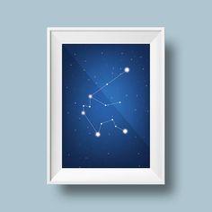 Aquarius Horoscope ZodiacConstellation Night Sky