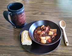 Skyrim Horker Stew Recipe. Video game consumable food in real life. Getting geeky in the kitchen.