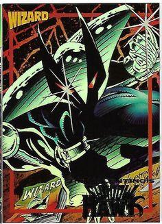 Shadow Hawk Jim Valentino Wizard Promo card 8 Shadow Hawk