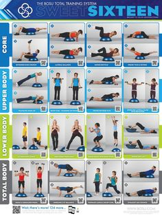 Great Bosu workout!