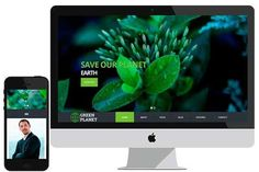 Green Planet – Social Bootstrap HTML by bootstrapbrothers on Creative Market