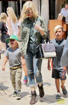 Gwen Stefani in GoldSign jeans