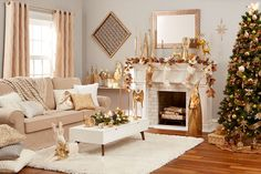 Build a Holiday Mantle that Fits Your Style with At Home