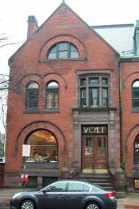 VOLT in Frederick, MD.  Beautiful historic building that houses amazing modern cuisine!  <3 you Bryan Voltaggio!!!